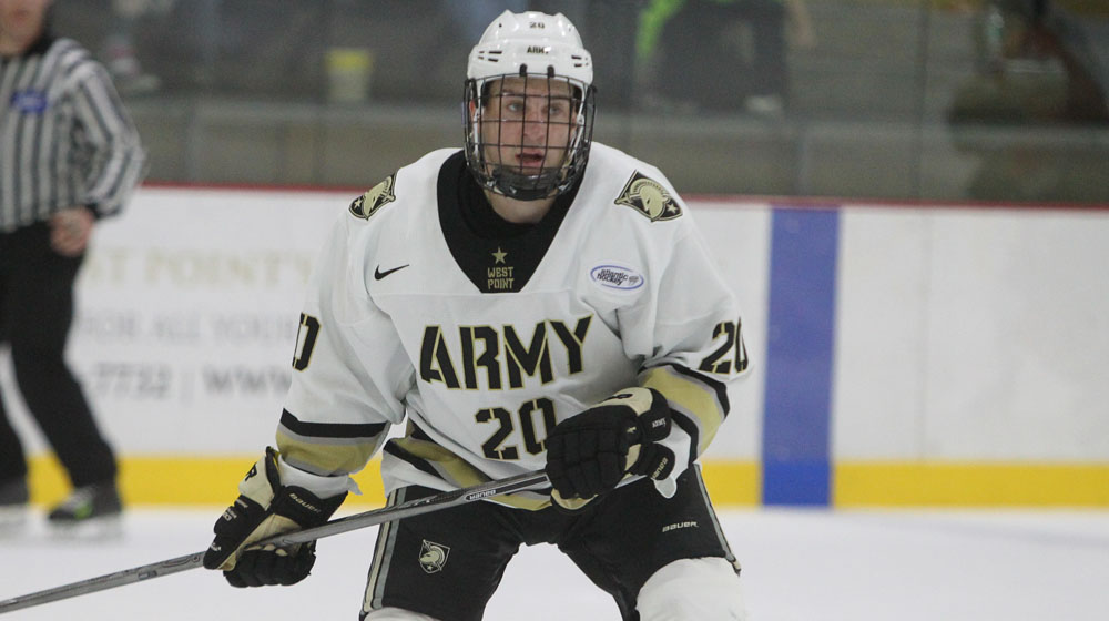 AHA: Low-scoring Army Takes Down Niagara - Andrle The Difference