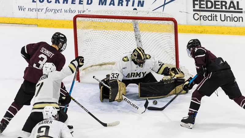 Cadets Triumphant Over UConn in Road Battle