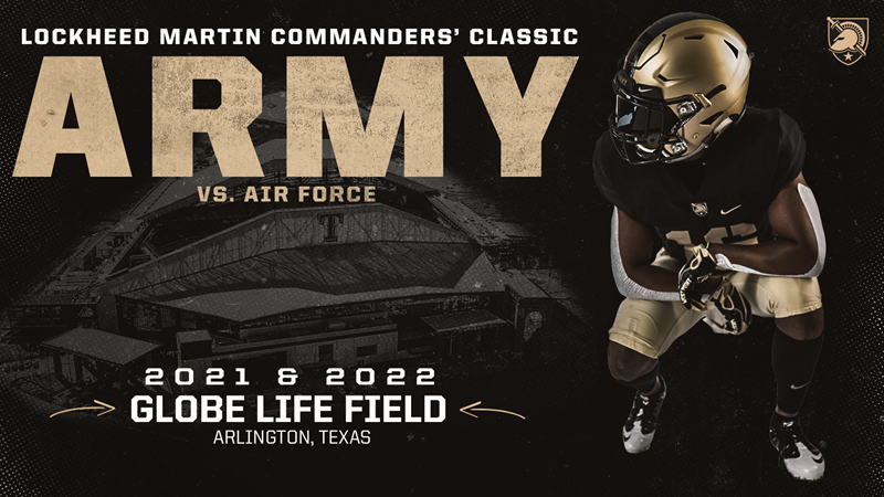 Lockheed Martin Commanders' Classic Presented by USAA Set for Globe Life Field - Army West Point