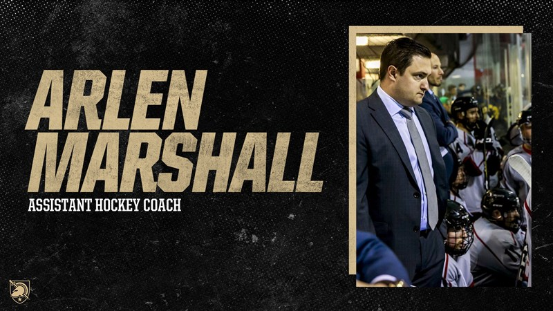Marshall to Serve as Army Hockey Assistant Coach - Army West Point