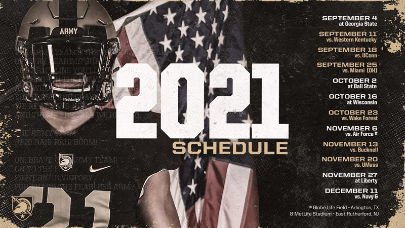 2021 Football Schedule Released - Army West Point